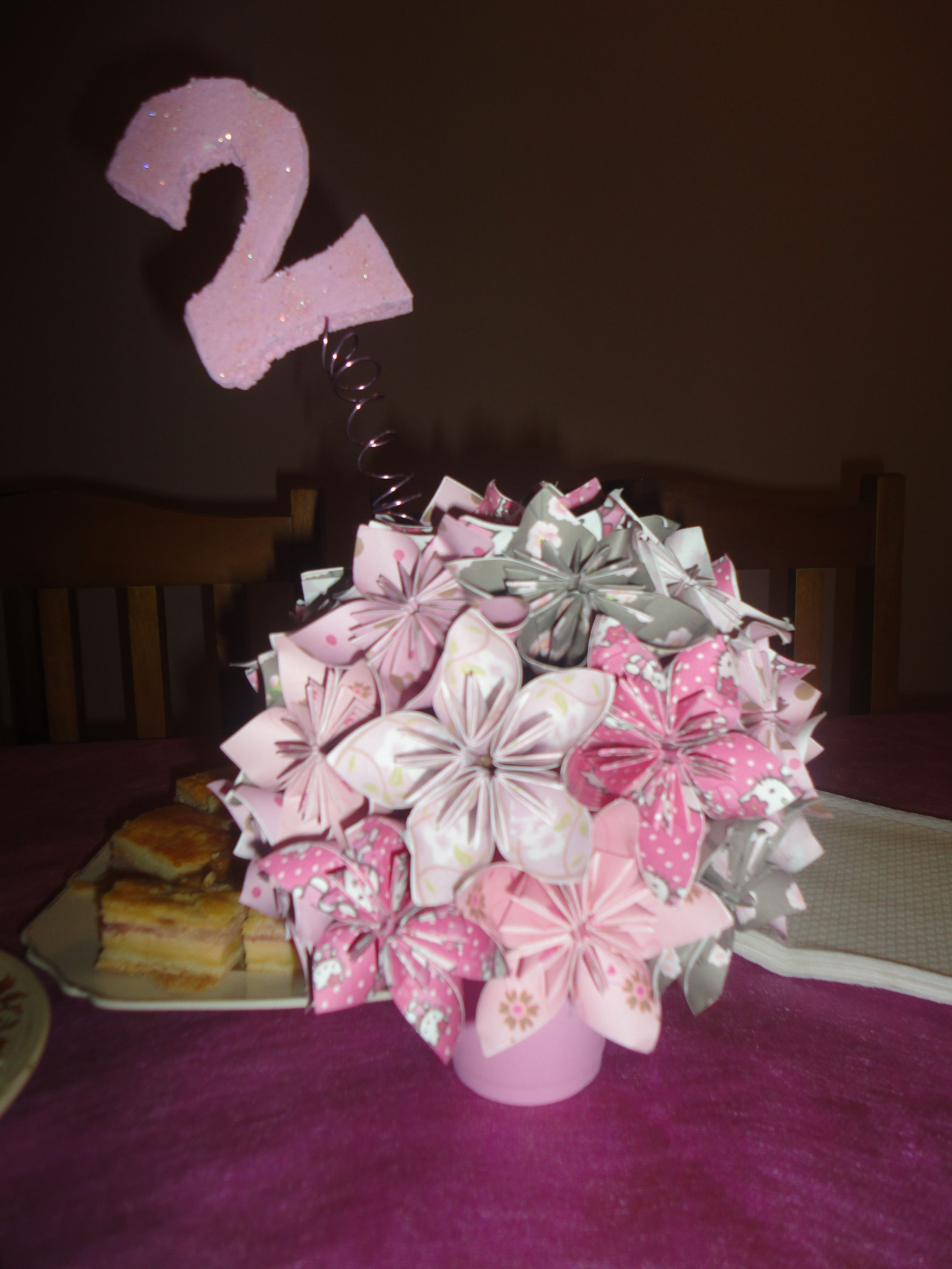 origami centerpiece party ideas pinterest origami