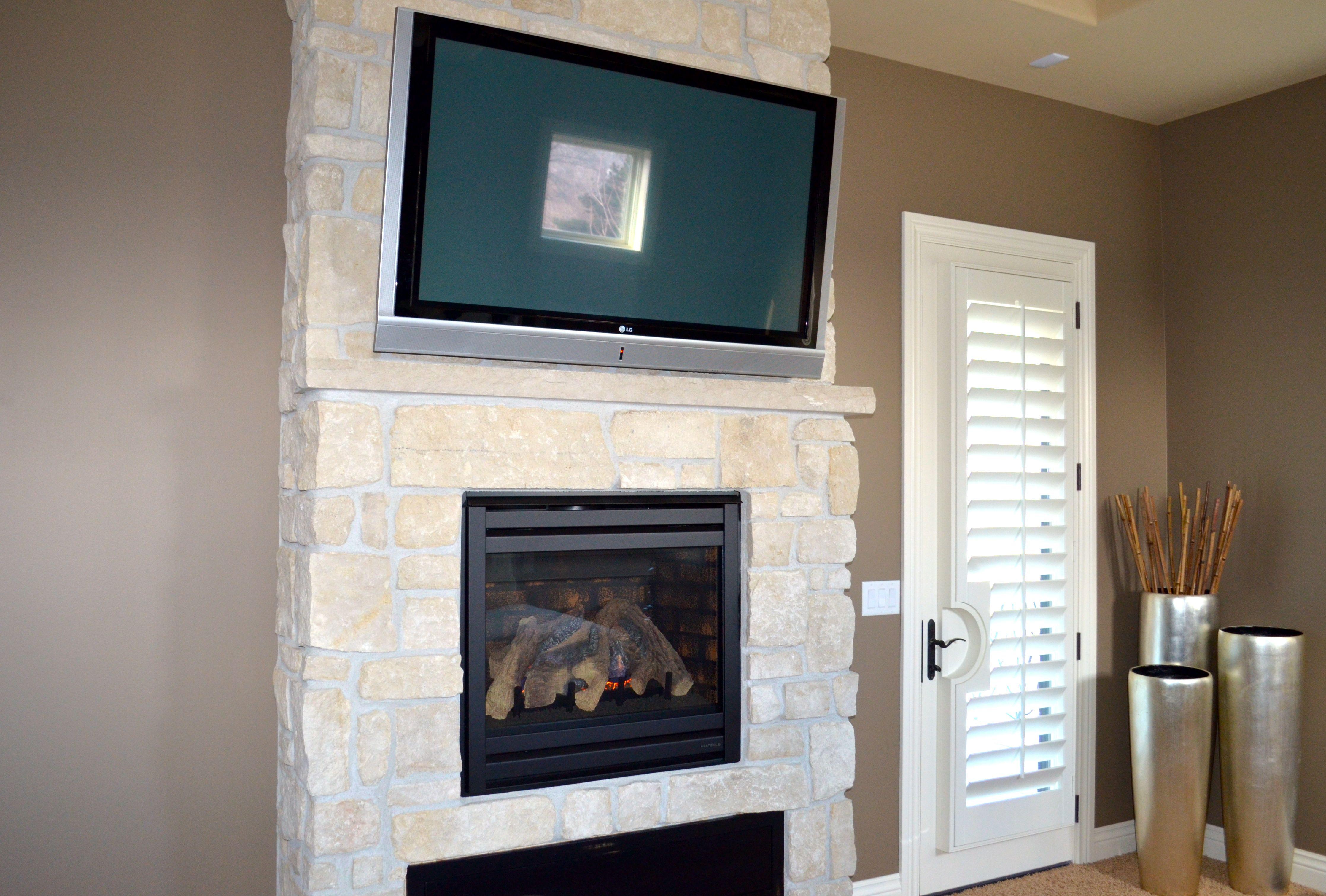 master bedroom fireplace bathroom redo pinterest. Black Bedroom Furniture Sets. Home Design Ideas