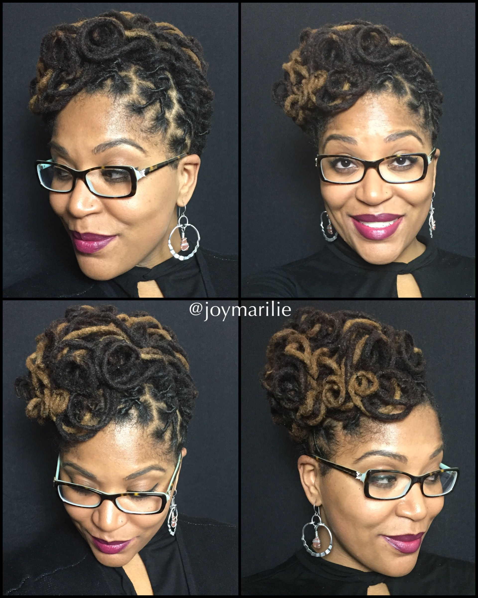 Loc styles my loc styles and experiments pinterest locs