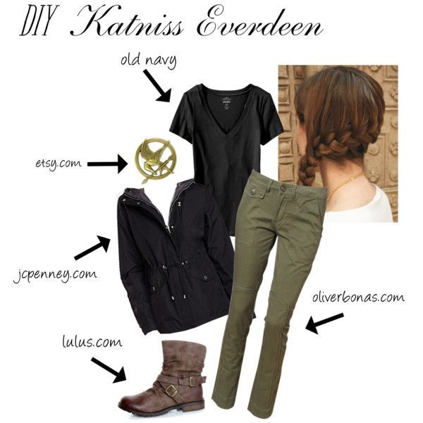 How to make the hunger games katniss everdeen halloween costume diy halloween how to make the hunger games katniss everdeen halloween costume solutioingenieria Gallery