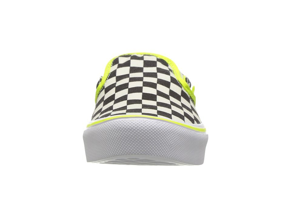 ef8560d167cc29 Vans Kids Classic Slip-On Lite (Little Kid Big Kid) Boys Shoes (Freshness)  Classic White White