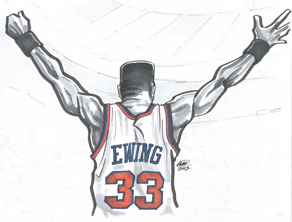 basketball art - Easy Sports Drawings