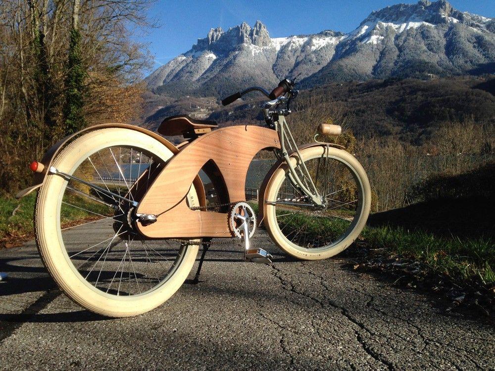 Vélo en bois Wheelu0027n Wood Ads - monter un garage en bois