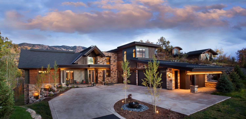 breathtaking mountain home designs colorado. Breathtaking contemporary mountain home in Steamboat Springs