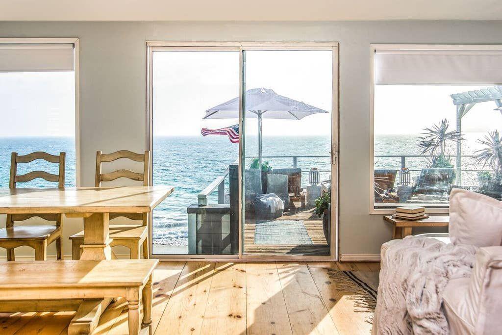 THE BEACH HOUSE ON MALIBU RD Netflix STAY HERE! Houses