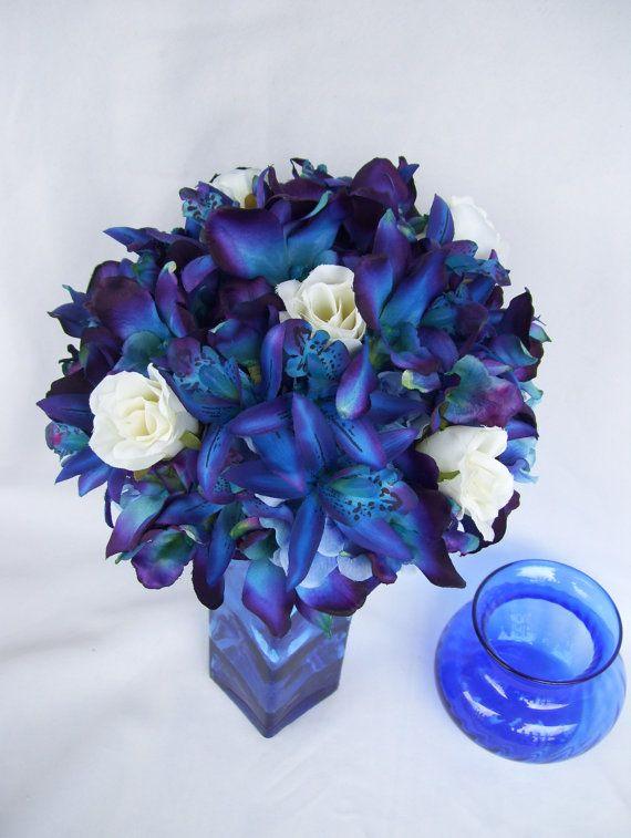 Penny's Bridal Bouquet Blue Violet CA Dendrobium Orchids ...
