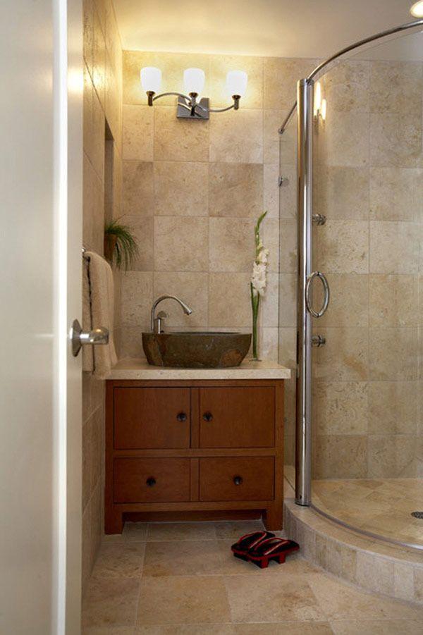 Grandes duchas en cuartos de ba os modernos decoracion - Cuartos de bano modernos ...