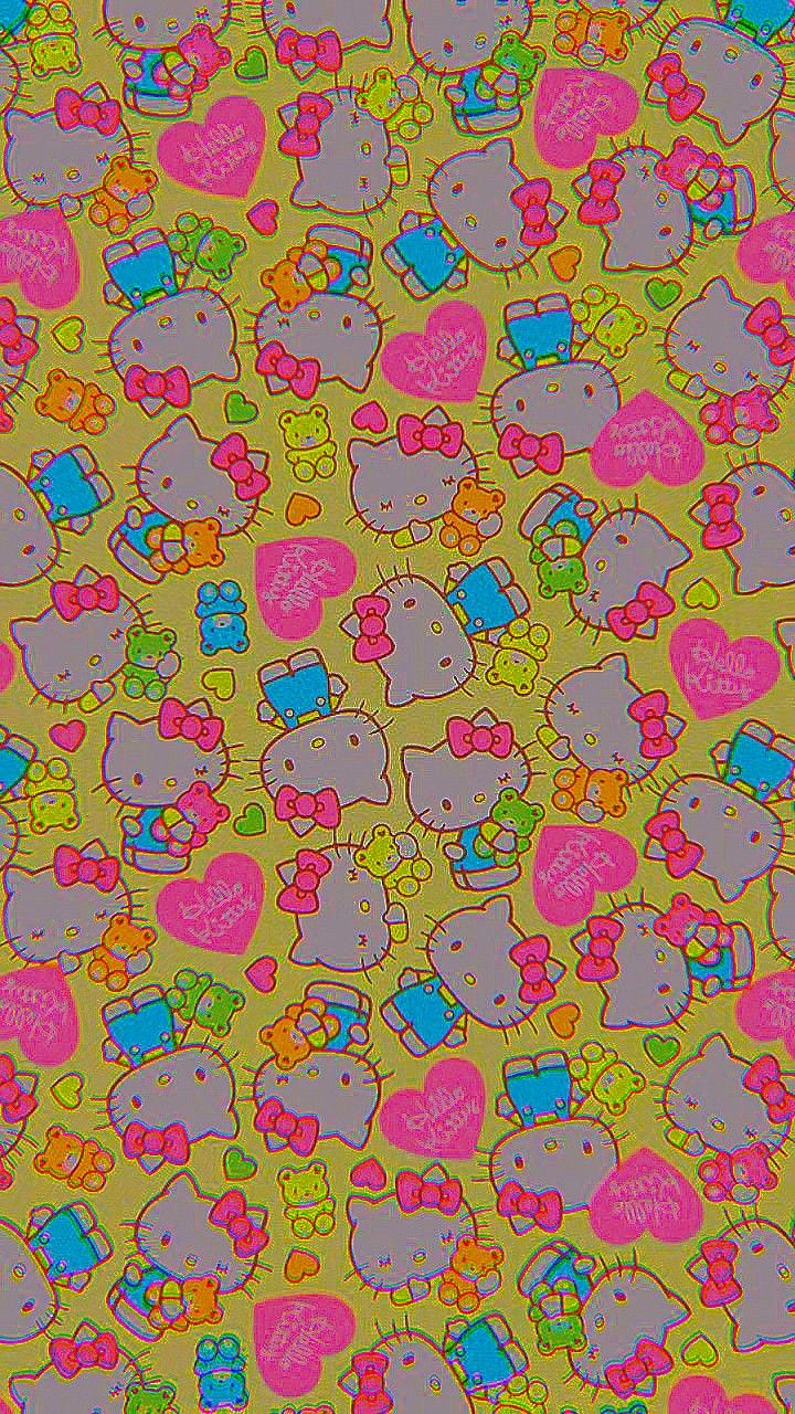 Fondo De Kitty Hippie Wallpaper Edgy Wallpaper Iphone Wallpaper Tumblr Aesthetic