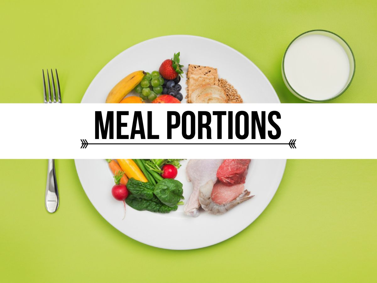 Portion control is one of the biggest factors that determine how much and how healthily we & This Is How Your Plate Should Look | Portion control Factors and ...