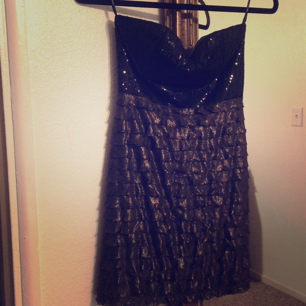Forever 21 Black Dress Size Small