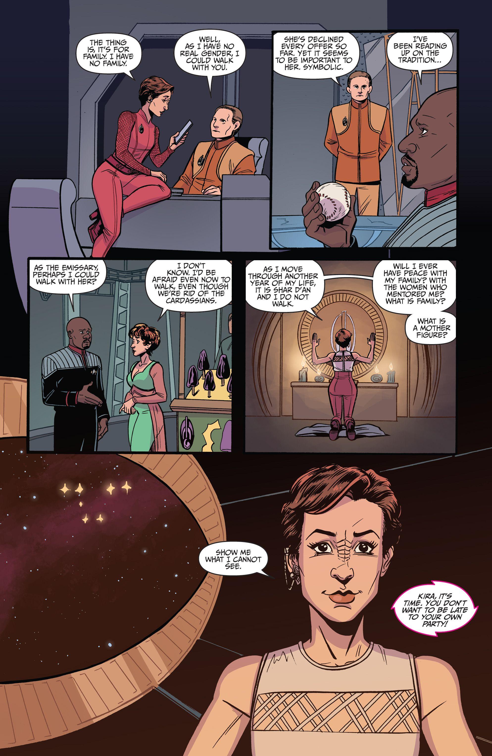 Star Trek: Waypoint Issue # 3 - Leia Star Trek: Waypoint Issue # 3 comic on-line em alta qualidade
