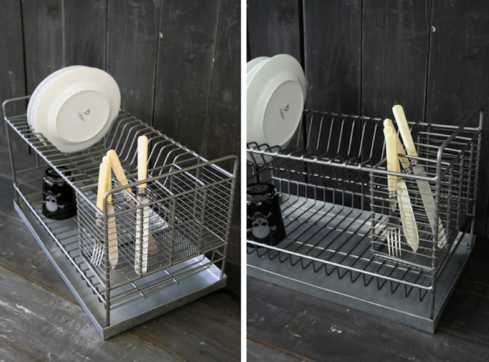 Extra Large Dish Drying Rack Unique Industrial Style Metal Dish Drainer  Dish Drainers Industrial Review