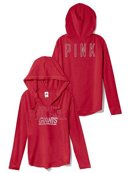 c48206f5 New York Giants Tunic Hoodie | Sports | Victoria secret pink ...
