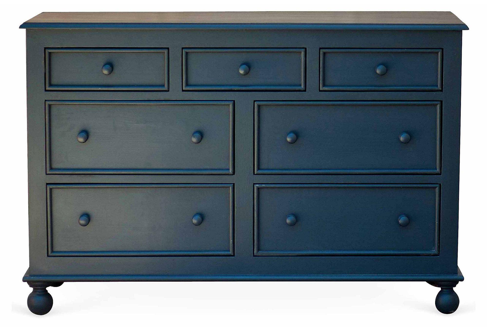 Beside-the-Sea Double Dresser, Slate | Designer Finds | One Kings Lane