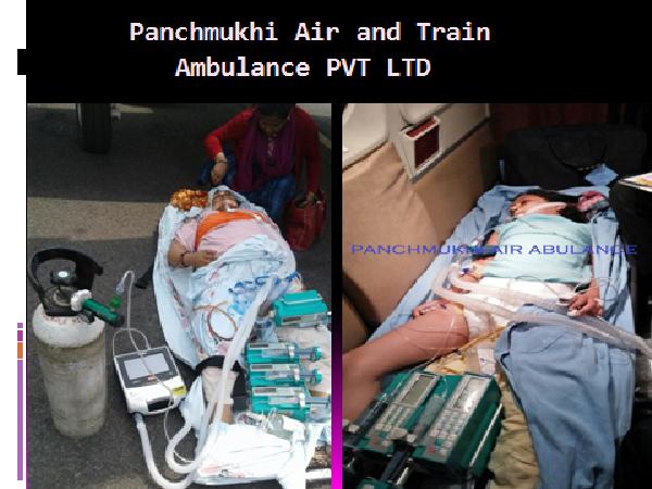 Critical Emergency Air Ambulance Service by Panchmukhi