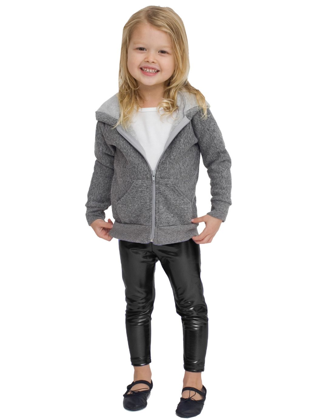 These HDE Girl's Shiny Leggings are available in multiple sizes and a variety of fun colors. HDE Girl's Shiny Wet Look Leggings Kids Liquid Metallic Footless Tights, Silver, 4/5: Shiny, metallic-sheen ankle length leggings for girls ages