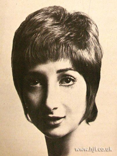 Front View 1969 Maurice Evansky Hairstyle Hair Hair