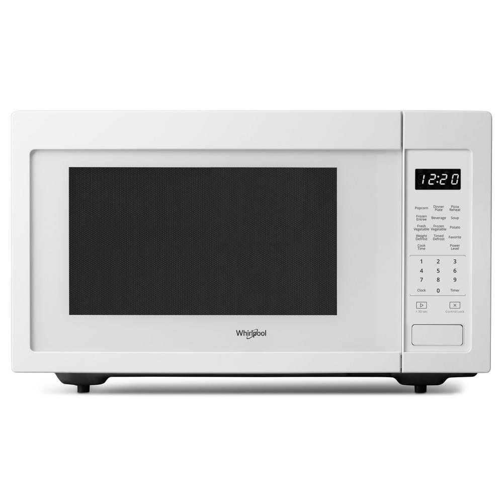 Whirlpool Countertop Microwave 1 6 Cu Ft White In 2020