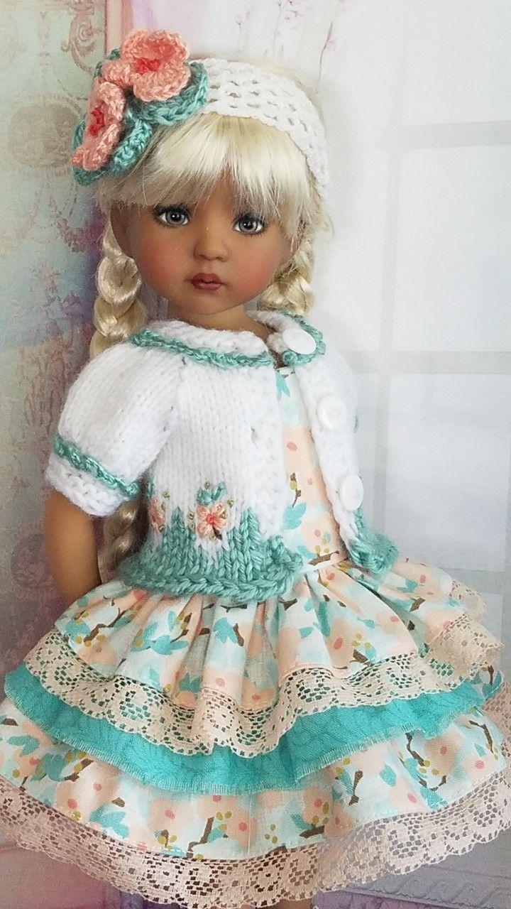 Pin de Shirley Nesbitt en Effner doll clothes | Pinterest | Muñecas ...