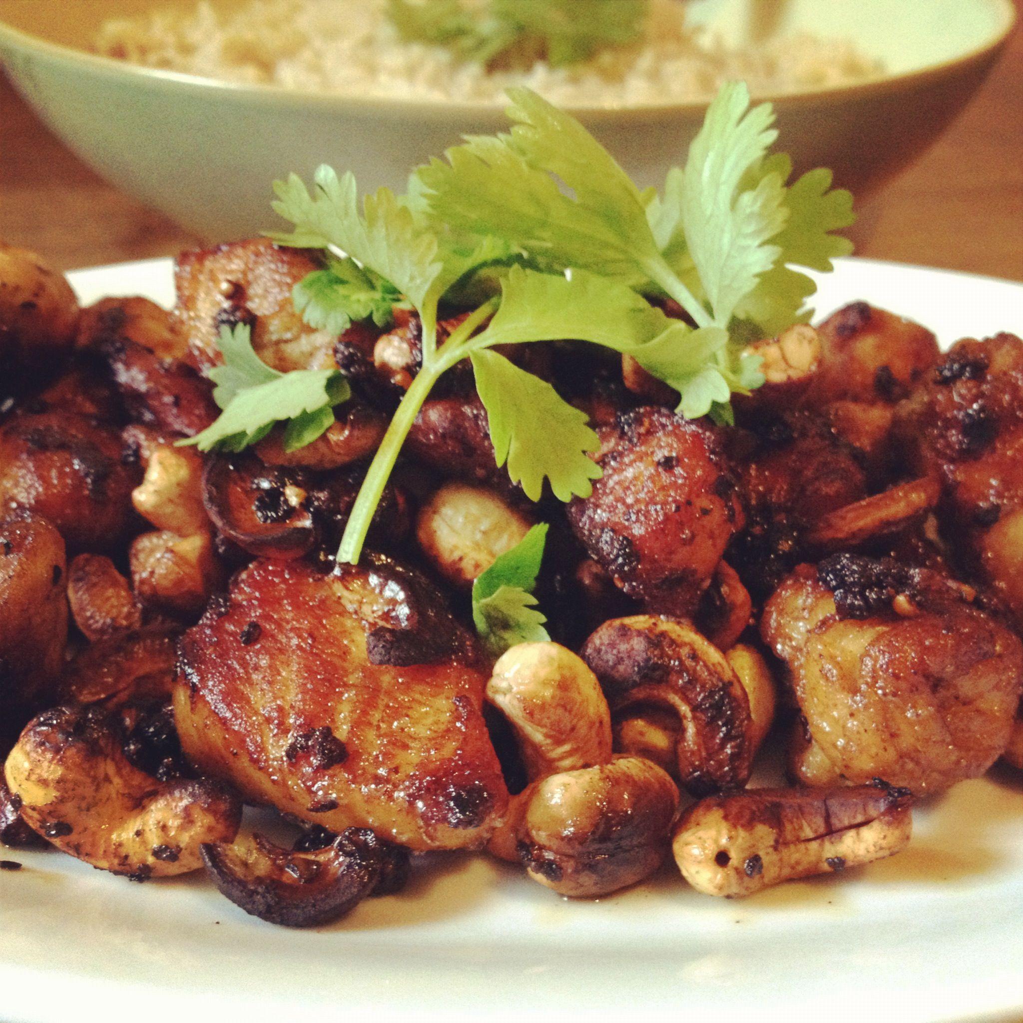 Black pepper chicken stir fry chicken recipes poultry