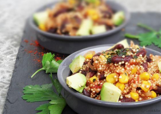 One Pot Quinoa mexicain | Recette (avec images) | Manger ...