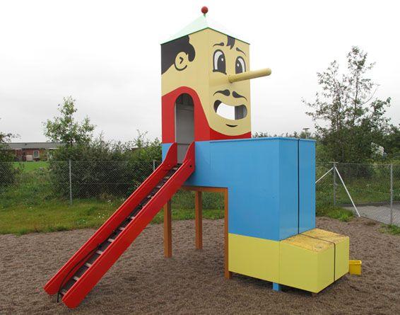 Design kindergarten the hague playground design by for Kindergarten playground design