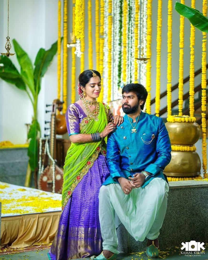 HarishAritakula and sowkya reddy Engagement pictures  Photography