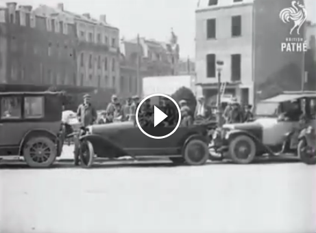 A solution to parallel parking, 1927 https//www.facebook