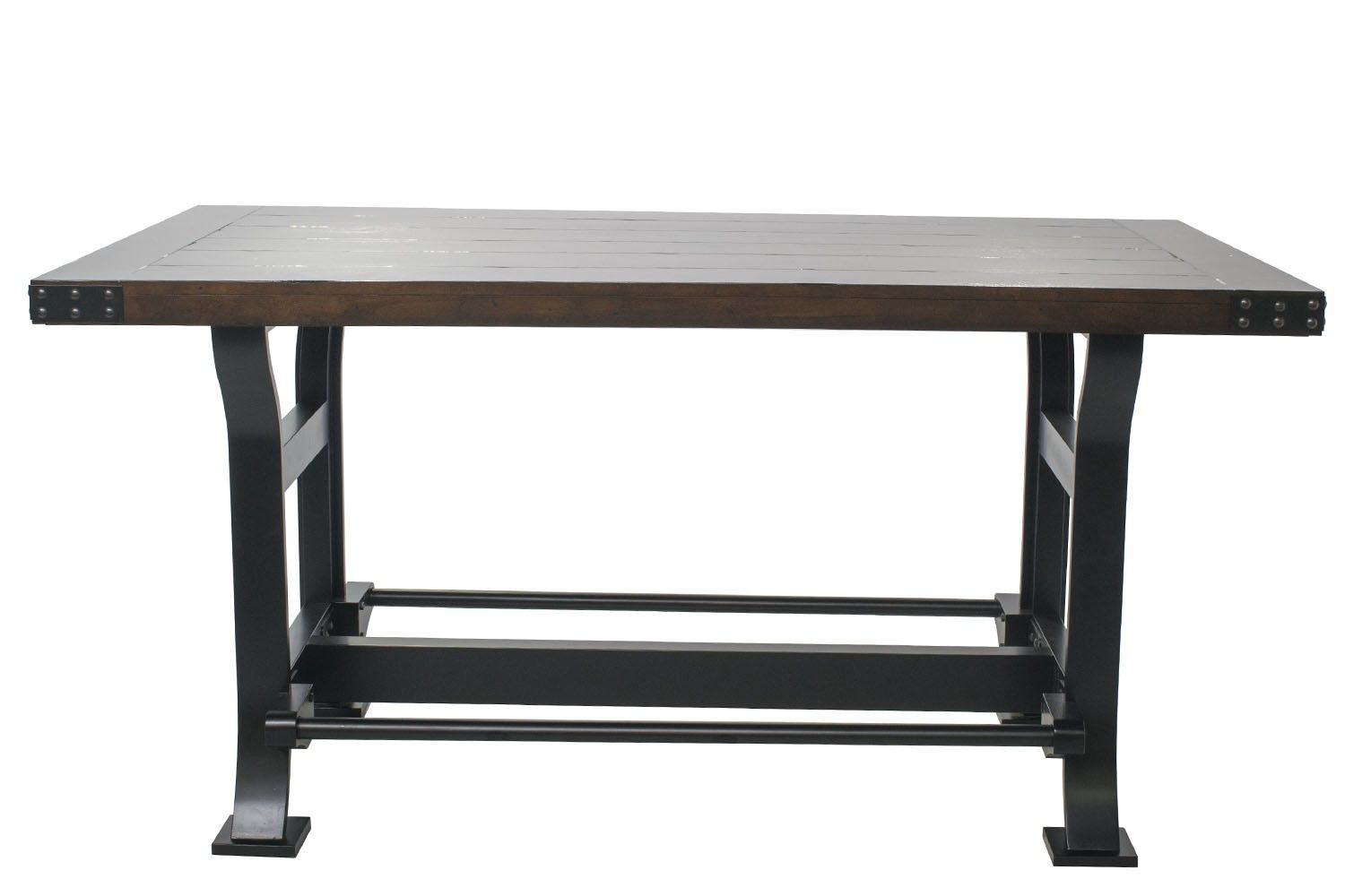 Mor Furniture For Less The Iron Works Counter Height Table Mor Furniture For Less Furniture