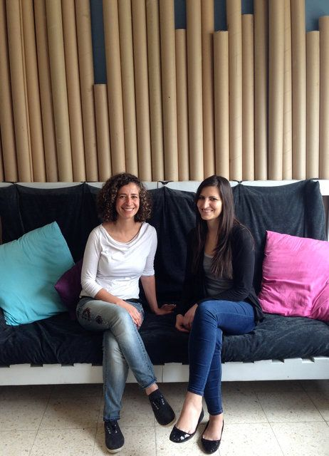 Architects Danna Massad (left) And Lina Saleh Make Furniture Out Of  Recycled Material,