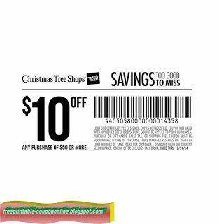 Christmas Tree Shops Coupons   Christmas tree shop ...