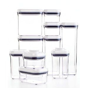 OXO Good Grips POP 10 Piece Food Container Set Storage containers