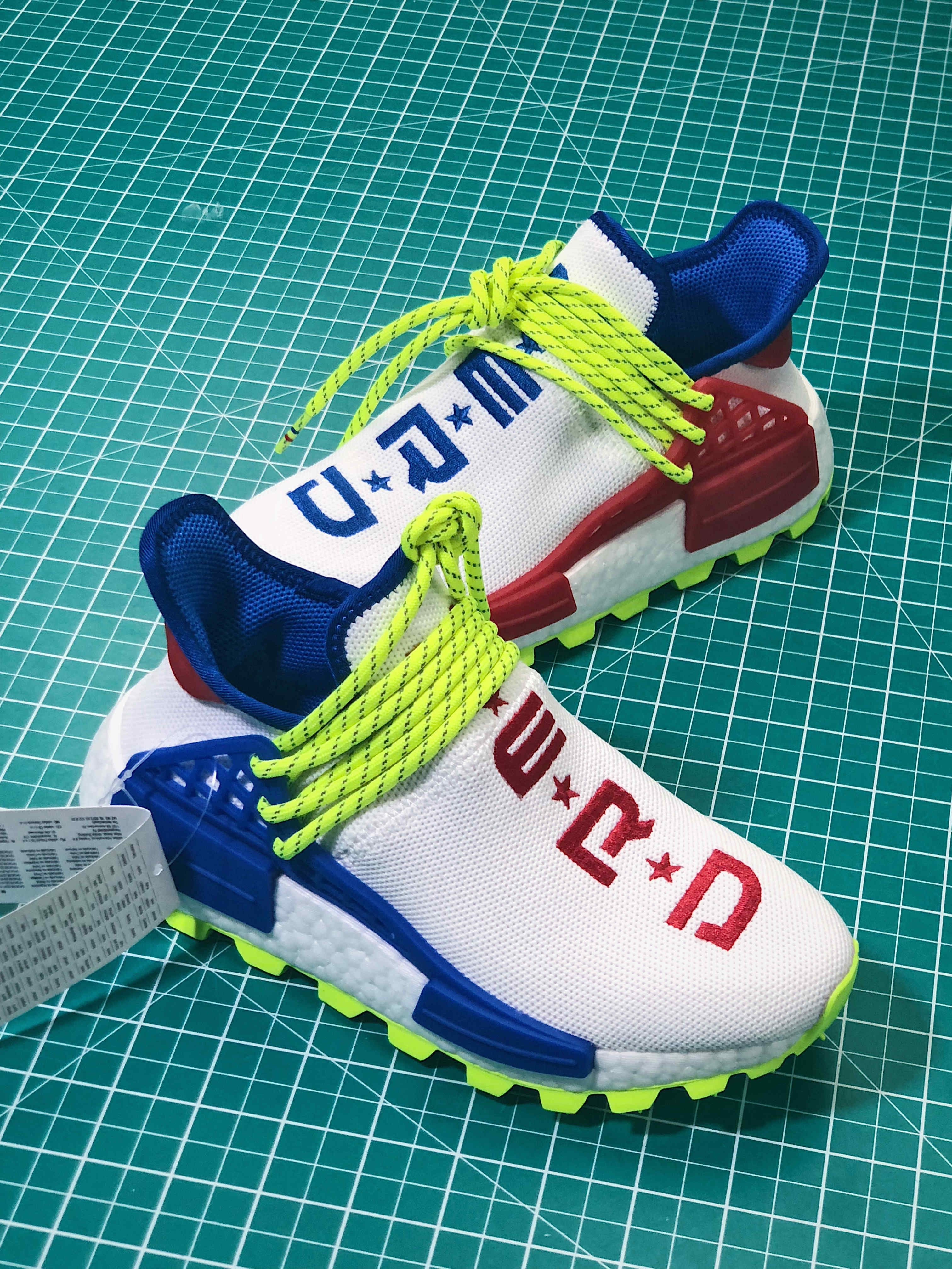 """Assoluto auditorium consolle  Creme x N.E.R.D x adidas PW Hu NMD """"Homecoming""""   Nmd, Homecoming, Adidas  nmd"""