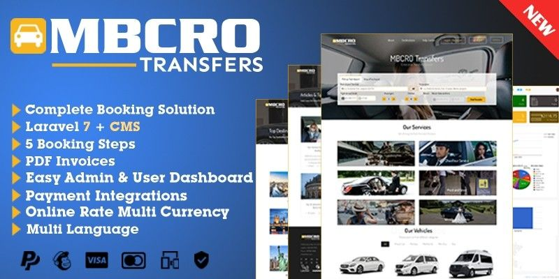 MBCRO Transfers Transfer Booking System by Mbcro in 2020