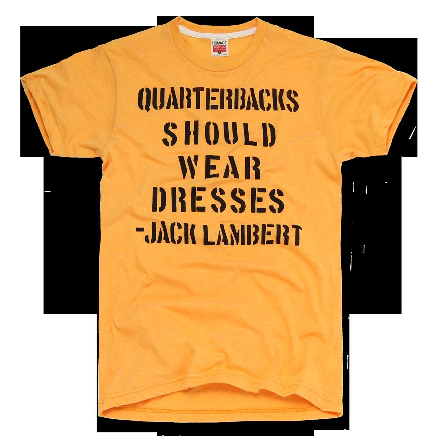 3c86e393d ... HOMAGE Pittsburgh Steelers Jack Lambert Quarterbacks T-Shirt - 19.33 ...