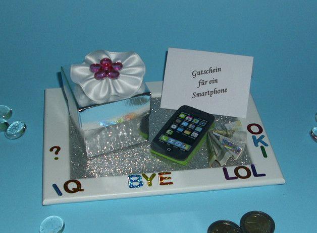 geldgeschenk gutschein handy smartphone geschenkideen kommunion pinterest geschenke. Black Bedroom Furniture Sets. Home Design Ideas