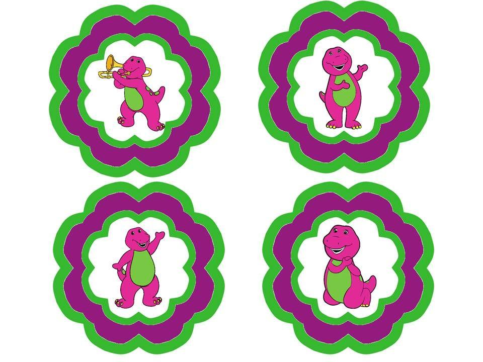 Free Printables: Barney Birthday Signs/Labels! | barney ideas ...