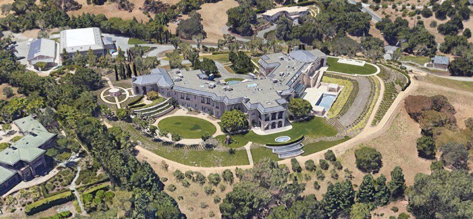 Yuri Milner residence | Billionaire Homes | Billionaire homes, House