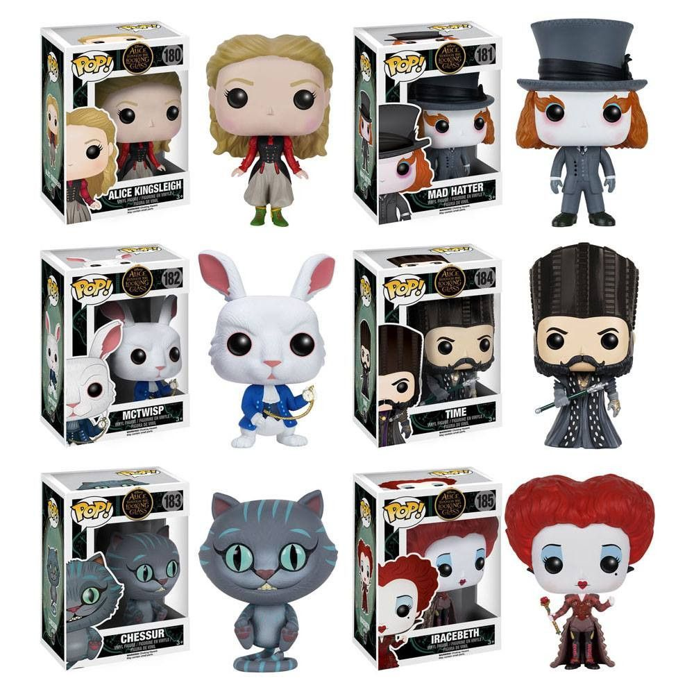 Preorder May 2016 Alice Through The Looking Glass Pop Vinyl