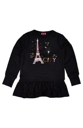 Seje Me Too Tunika Belinda  Sort Me Too Skjorter & tunika til Børn & teenager i lækker kvalitet