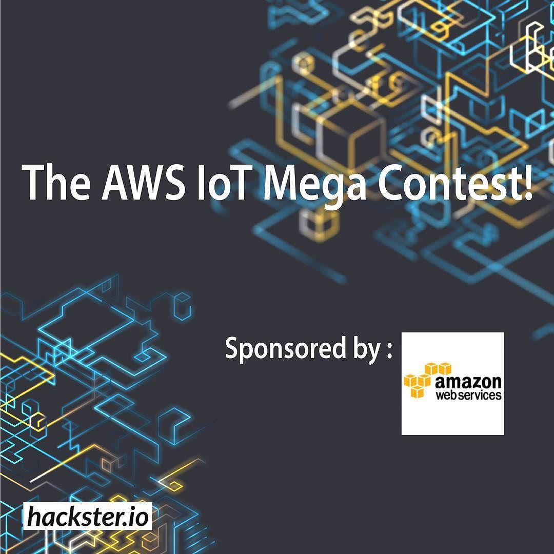 Something we loved from Instagram! Amazon Web Services just announcedAWS IoT a new service that connects devices easily and securely with the AWS cloud. You can build IoT applications that gather process analyze and act on trillions of data points generated by billions of connected devices faster than ever and over any infrastructure!  We're excited to announce the first AWS IoT contest and give you the chance to invent something new.  Let's Get Started! Submit youridea of what you would…
