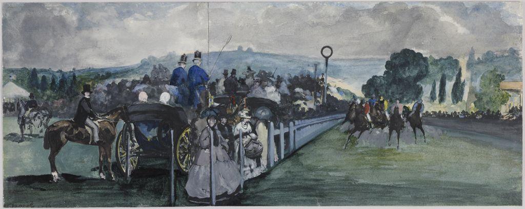 Картинки по запросу manet corse dei cavalli