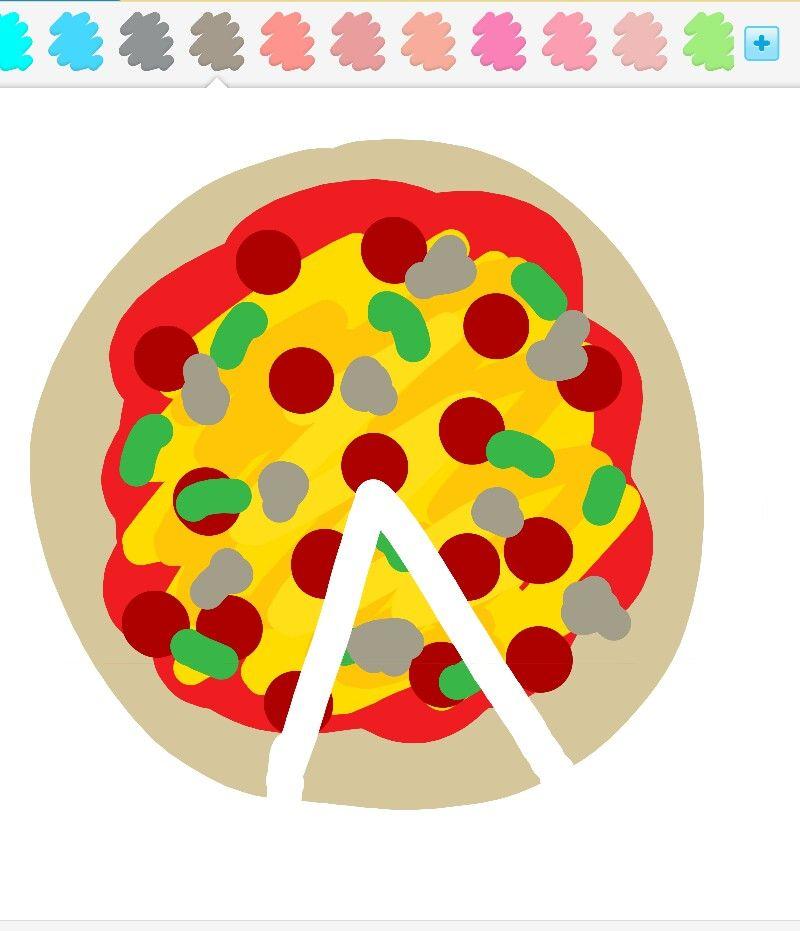 Pizza Yummmy Draw Something App Draw Something Draw Art