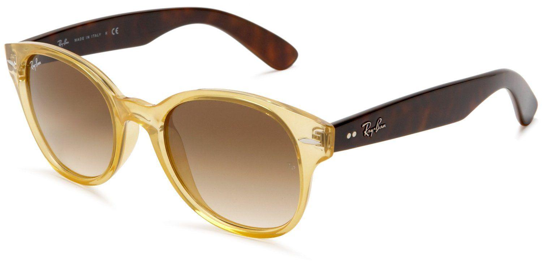 Amazon.com: Ray-Ban RB4141 Round Wayfarer Sunglasses,Black Frame/Green