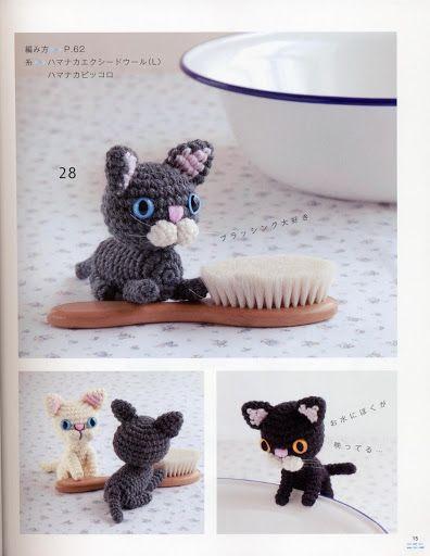 Free Mini Cats Amigurumi Crochet Pattern Amigurumi Cats