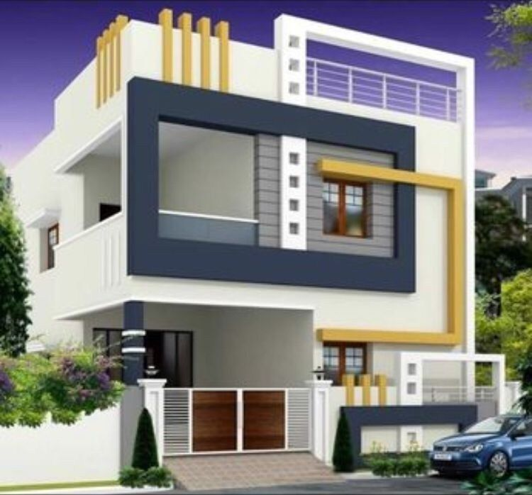 31 Elegant House Design Ideas Exterior In 2020 Duplex House