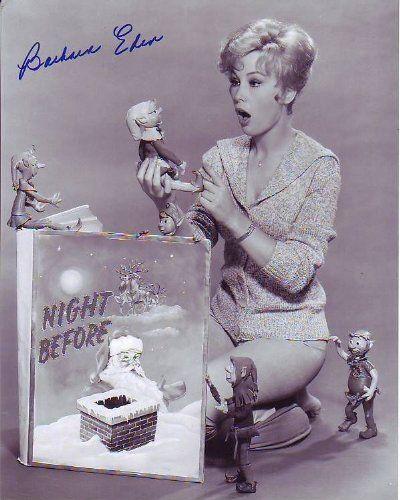 Amazon.com: BARBARA EDEN signed autographed CHRISTMAS photo: Entertainment Collectibles
