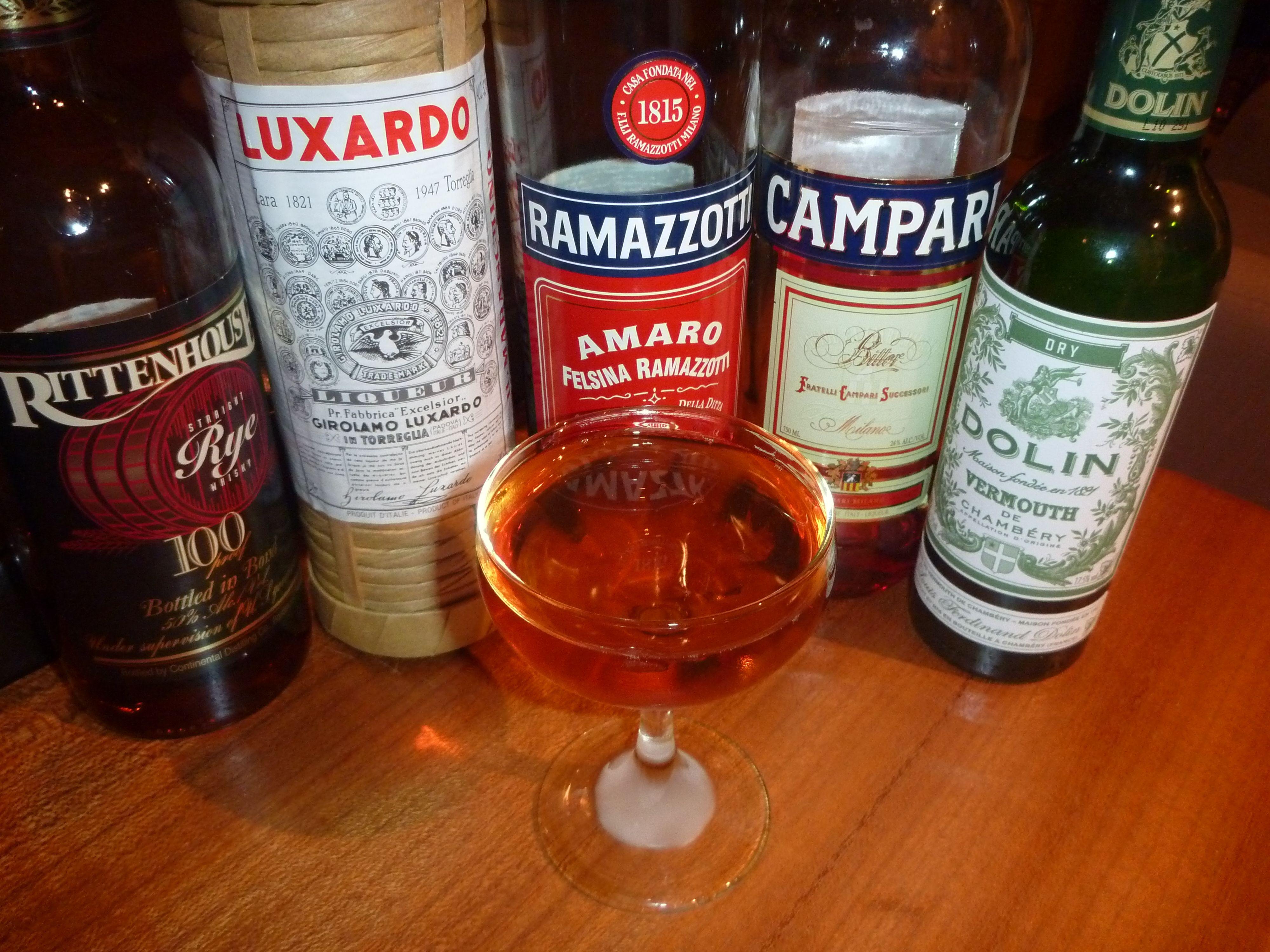 Custom Image Campari Cocktails Dry Vermouth