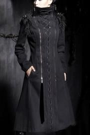 Equilibrium Corseted Coat by Punk Rave