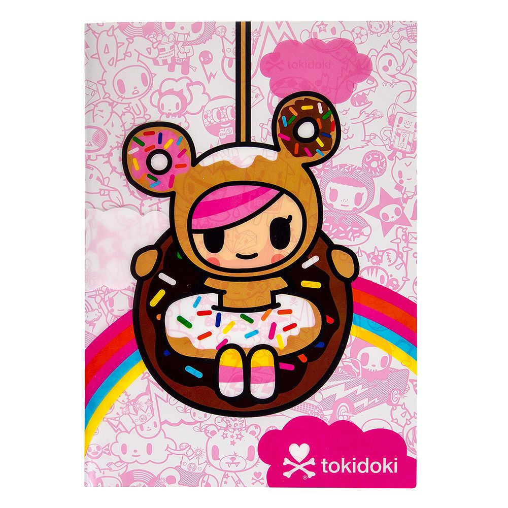 tokidoki donutella a5 notebook pink - Tokidoki Donutella Coloring Pages